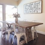 Enhance Dinning Room With Farmhouse Table 136