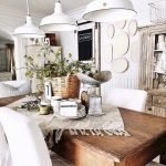 Enhance Dinning Room With Farmhouse Table 137