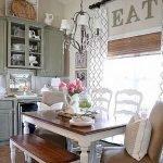 Enhance Dinning Room With Farmhouse Table 141