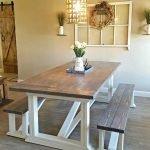 Enhance Dinning Room With Farmhouse Table 144