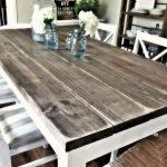 Enhance Dinning Room With Farmhouse Table 145