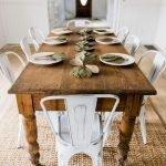 Enhance Dinning Room With Farmhouse Table 147