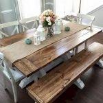 Enhance Dinning Room With Farmhouse Table 152