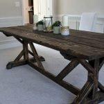 Enhance Dinning Room With Farmhouse Table 156