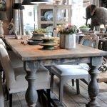 Enhance Dinning Room With Farmhouse Table 164