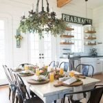 Enhance Dinning Room With Farmhouse Table 171