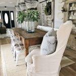 Enhance Dinning Room With Farmhouse Table 172