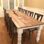 Enhance Dinning Room With Farmhouse Table 181
