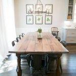 Enhance Dinning Room With Farmhouse Table 185