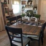 Enhance Dinning Room With Farmhouse Table 186