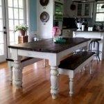 Enhance Dinning Room With Farmhouse Table 190