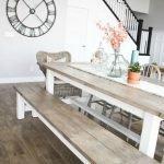 Enhance Dinning Room With Farmhouse Table 24
