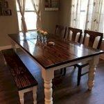 Enhance Dinning Room With Farmhouse Table 55
