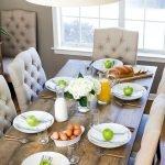 Enhance Dinning Room With Farmhouse Table 62