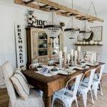 Enhance Dinning Room With Farmhouse Table 64