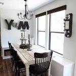 Enhance Dinning Room With Farmhouse Table 67