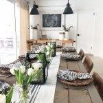 Enhance Dinning Room With Farmhouse Table 68