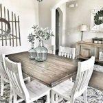 Enhance Dinning Room With Farmhouse Table 72