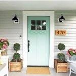 Elegant Front Door Decorating Ideas 9