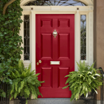 Elegant Front Door Decorating Ideas 19