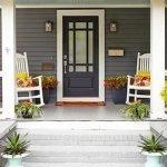 Elegant Front Door Decorating Ideas 29