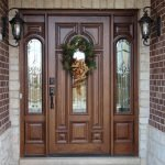 Elegant Front Door Decorating Ideas 39