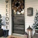 Elegant Front Door Decorating Ideas 46