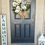 Elegant Front Door Decorating Ideas 49