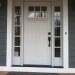 Elegant Front Door Decorating Ideas 54