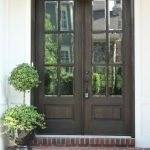 Elegant Front Door Decorating Ideas 56