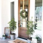 Elegant Front Door Decorating Ideas 62