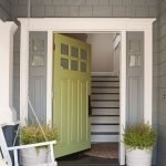 Elegant Front Door Decorating Ideas 67