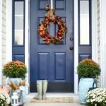 Elegant Front Door Decorating Ideas 68