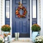 Elegant Front Door Decorating Ideas 68