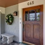 Elegant Front Door Decorating Ideas 70