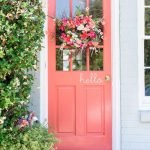 Elegant Front Door Decorating Ideas 72