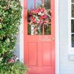 Elegant Front Door Decorating Ideas 72