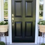 Elegant Front Door Decorating Ideas 73