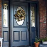Elegant Front Door Decorating Ideas 74