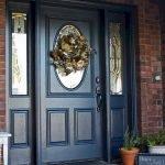 Elegant Front Door Decorating Ideas 74