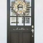 Elegant Front Door Decorating Ideas 80