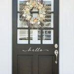 Elegant Front Door Decorating Ideas 80