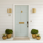 Elegant Front Door Decorating Ideas 86