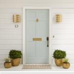 Elegant Front Door Decorating Ideas 86