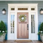 Elegant Front Door Decorating Ideas 87