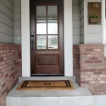 Elegant Front Door Decorating Ideas 95
