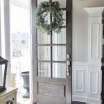 Elegant Front Door Decorating Ideas 106