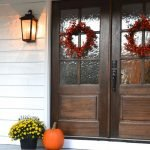 Elegant Front Door Decorating Ideas 113