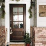 Elegant Front Door Decorating Ideas 114