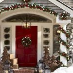 Elegant Front Door Decorating Ideas 129
